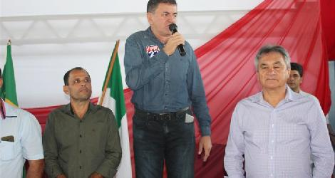 [ Prefeito reeleito Dinoel Carvalho agradece a população veredense pela sua eleição ]