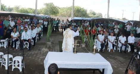 [ Usina Santa Maria realiza Missa em Ação de Graças pela moagem 2019/2020 ]